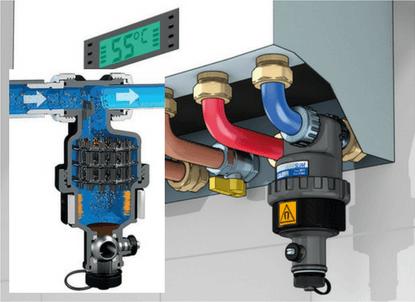 Fűtesrendszer mágneses iszapleválasztó