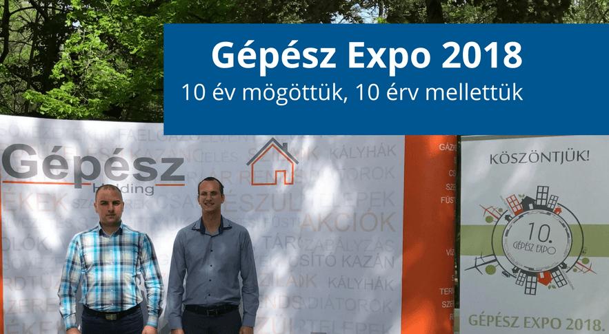 Gépész Expo 2018