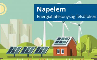 Napelem – Energiahatékonyság felsőfokon